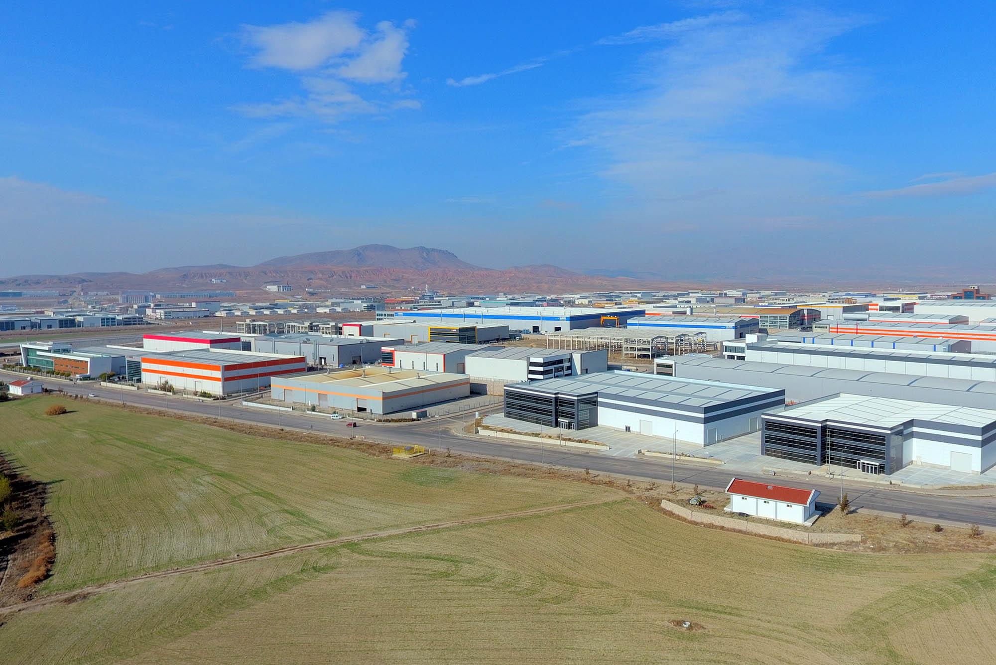 Anadolu Organize Sanayi Bölgesi Fabrikalar