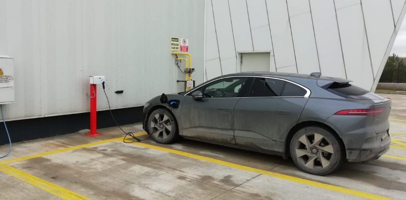 Temelli Elektrik Araba Şarj İstasyonu